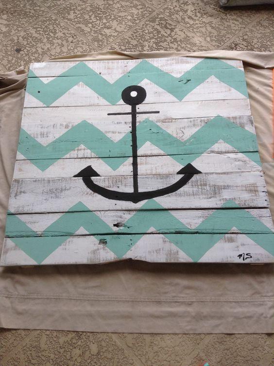Anchor pallet art!