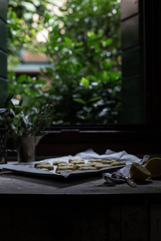 A Trip to Burano and a Recipe for a Seafood Fritoin, and Buranelli Butter Biscuits with Lemon and Rosemary - From My Dining Table: