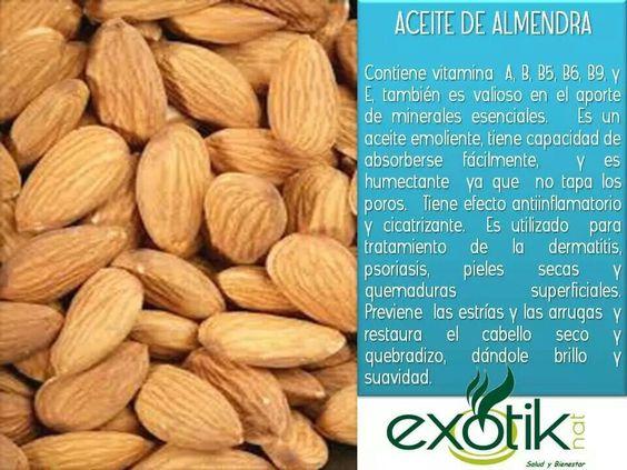Aceite de Almendra.   Almond Oil
