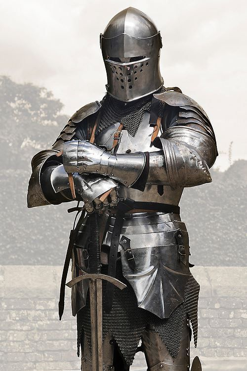 Image result for a picture of a knight in armor