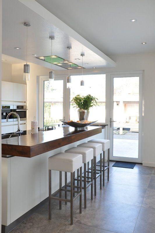 Die neue Küche der Familie Bosch in u0027s Heerenberg Haus - küche ohne griffe