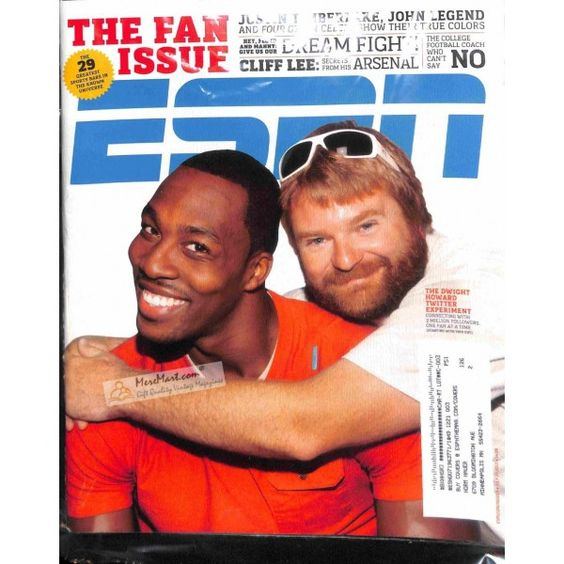 Cover Print of ESPN, July 25 2011   $6.60