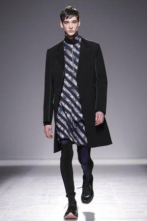 John Galliano Menswear Fall Winter 2014 Paris - NOWFASHION