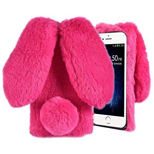 Coque Oreille de Lapin For IPhone 7/ For IPhone 8Hiver Chaud Étui ...