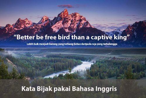 Kata Kata Bijak Inggris Singkat Dan Artinya
