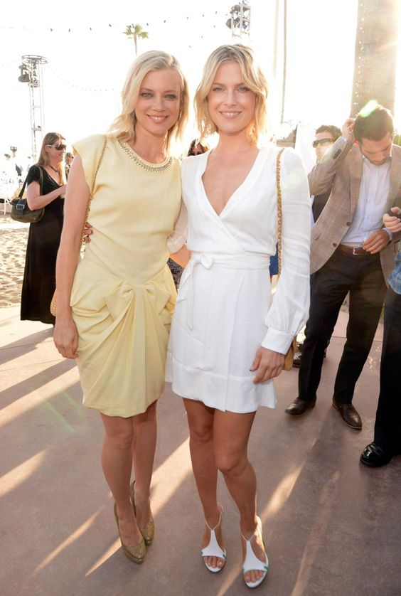 Pin for Later: 20 Stars Who Have Been in Their Famous Friends' Weddings  When Amy Smart married Carter Oosterhouse in September 2011, her longtime friend and fellow actress Ali Larter served as one of her bridesmaids.