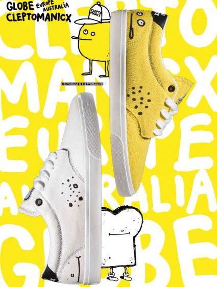 "Cleptomanicx x Globe ""Lighthouse Sneaker"" [Fashion] on http://www.drlima.net"