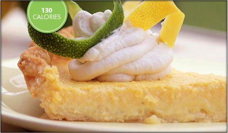 citrus tart with Truvia sweetener