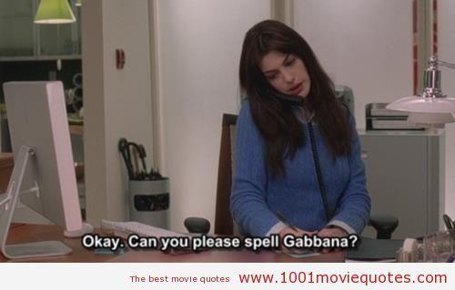 The Devil Wears Prada (2006) | 1001 Movie Quotes