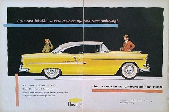 1955 Chevrolet Belair Car Advertisement Vintage Car Ads Chevrolet Ads Chevy Ads Vintage Print Ads Mag With Images Vintage Advertisements Car Advertising Vintage Ads