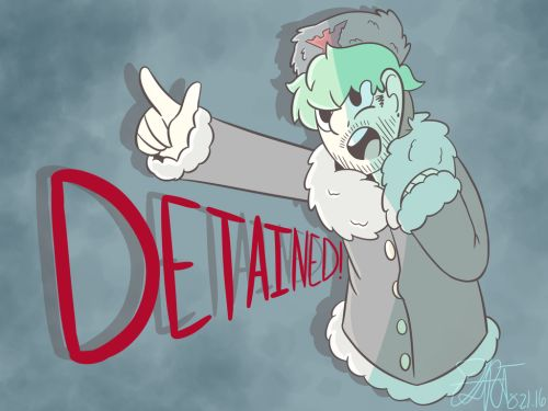 t1-rfscribbles: DETAINED!! by T1RF-Scribbles Despite loving the game and series…