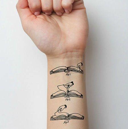 Tatuagens inspiradoras para os amantes da literatura                                                                                                                                                                                 Mais