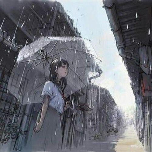 Animation] Rainy Day (2015. 12) by Dabin_Je   Anime, Anime background, Anime  scenery