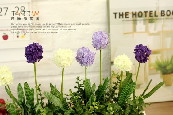 Aliexpress.com : Buy Hot sale Rural home furnishing lavender ball artificial flower wooden palisade fence decoration set free shipping 3 lengths from Reliable silk orchid suppliers on Lore 's Decoration Flowers Store. $22.99 - 30.99