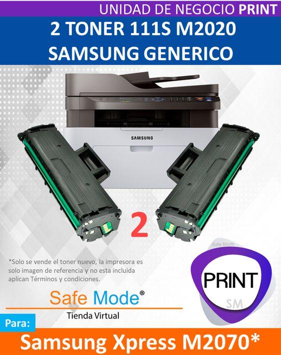2 Toner para Samsung Xpress M2070  [Nuevo]