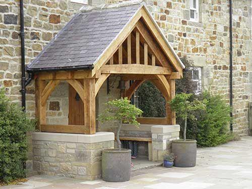 Green Oak Open Porch