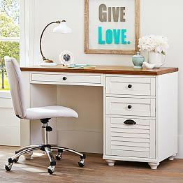 Writing Desks, Student Desks, Desk Furniture & Bedroom Desks | PBteen