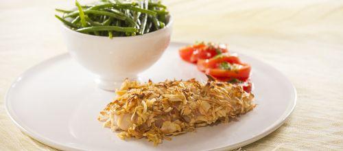 Já provou a nossa receitas de Peito de frango com crosta de cebola desidratada?