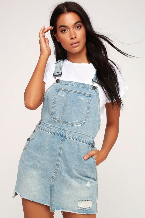 30++ Jean overall dress information