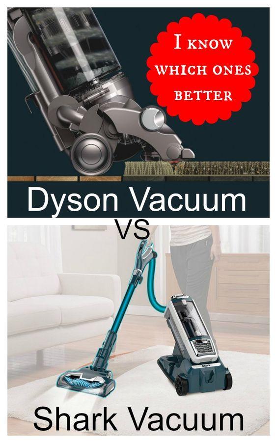 dyson vacuum vs shark vacuum