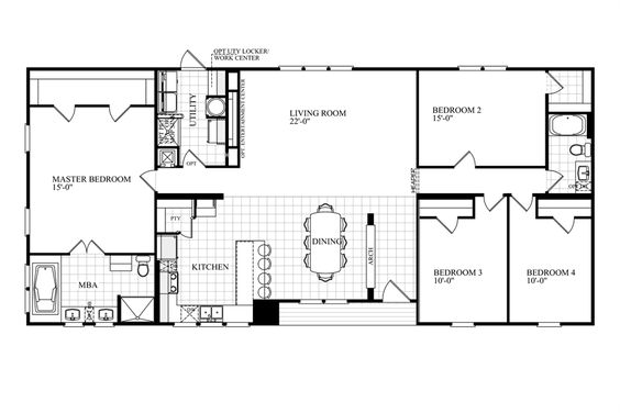 Oakwood homes floor plans and floors on pinterest for Home ideas centre clayton