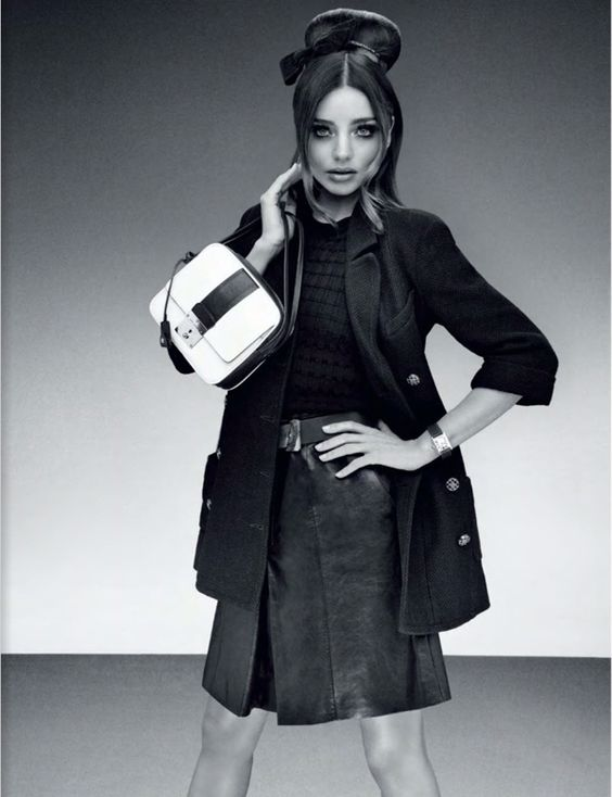 Miranda Kerr In 60s Style Guise by Sebastian Mader for Jalouse February 2013 As 'Chic Illustrated'