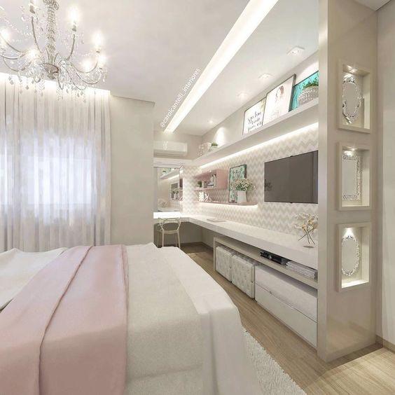 Muito Maravideuso gente esse quarto digno de uma verdadeira PRINCESS  By @carolcantelli_interiores do @decoremais SNAP: Decoredecor Projeto: Carol Cantelli
