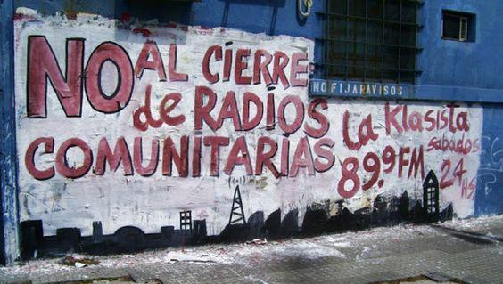 Radios Comunitarias llaman a movilizarse contra la criminalización de la comunicación popular