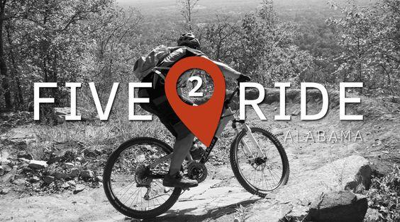 Five2Ride: The Best Mountain Bike Trails in Alabama.