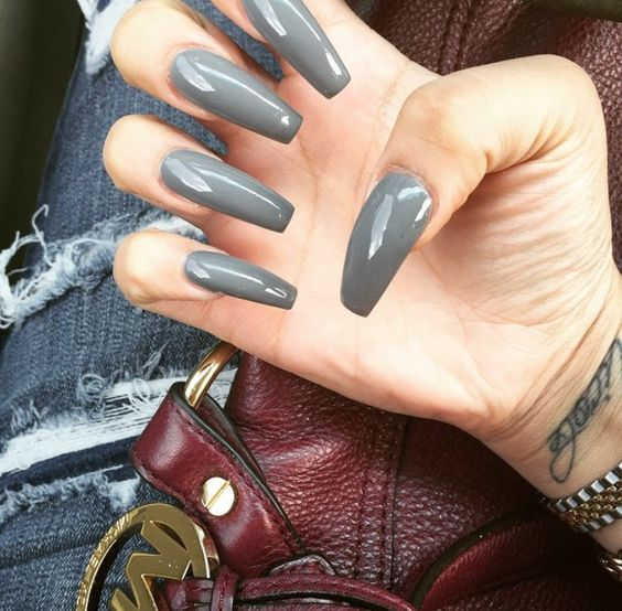Her nails are flawless