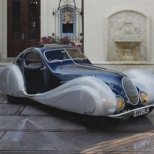 1937 Talbot-Lago  Type 150-C-SS/Sport Coupe at The Nethercutt Museum Sylmar, CA #Kids #Events