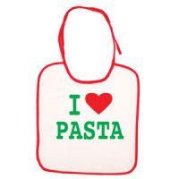 Baby Bib – I Love Pasta
