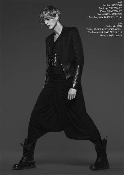Visions of the Future: Rocker jinni couture: Harem Pants + Doc Martens