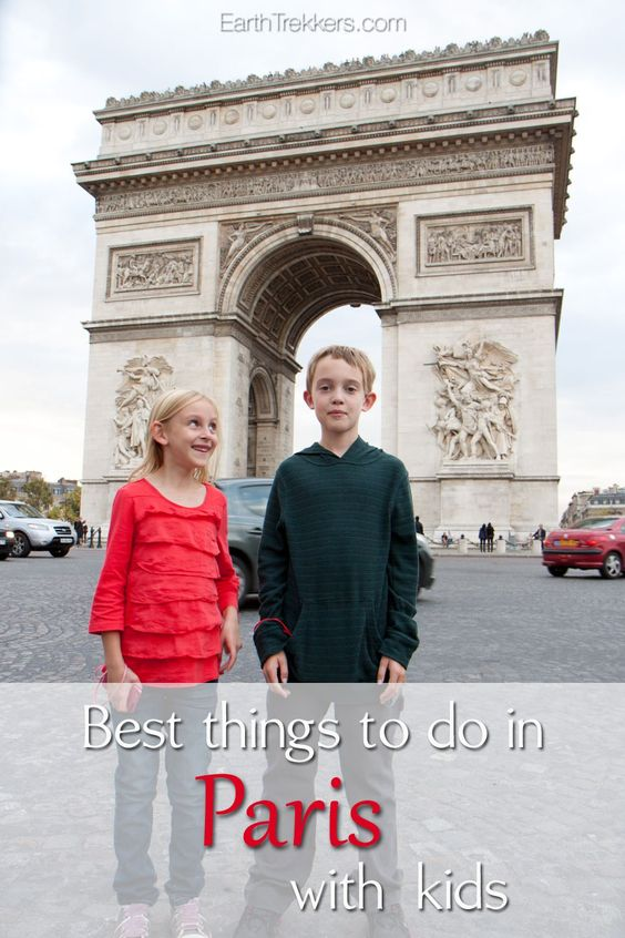 Best things to do in Paris with Kids.
