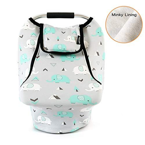 Stretchy Baby Car Seat Covers For Boys Girls Infant Canopy Spring Autumn Winter