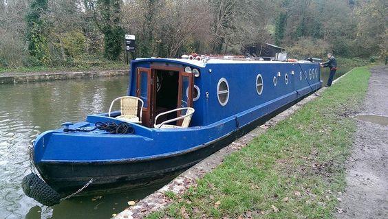 'Ruffian Rambler' 58ft Semi-Trad Narrowboat, 2 berth liveaboard, Lying Nr. Bath in Cars, Motorcycles & Vehicles, Boats & Watercraft, Narrowboats/ Canalboats | eBay