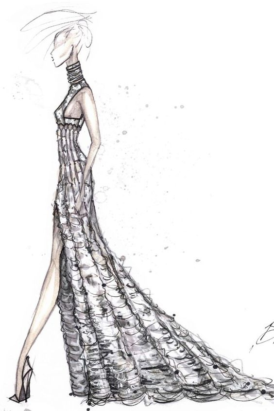 fashion sketches dior - Cerca con Google