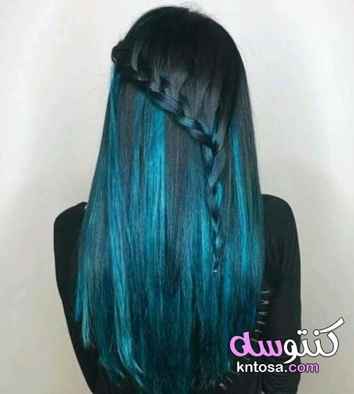شعرك متألق بلون الزمرد ألوان صبغات شعر غير تقليدية 2020 تسريحات شعر بخصل خضراء روعة Teal Hair Teal Hair Color Latest Hair Color
