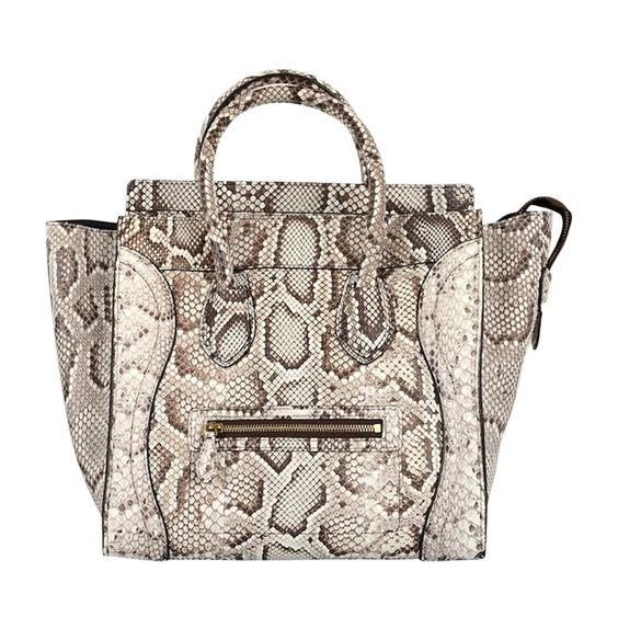 Celine Python Mini Luggage Bag Sold Out in Stores