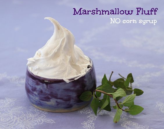 Store bought marshmallow fluff lists its very first ingredient as corn ...