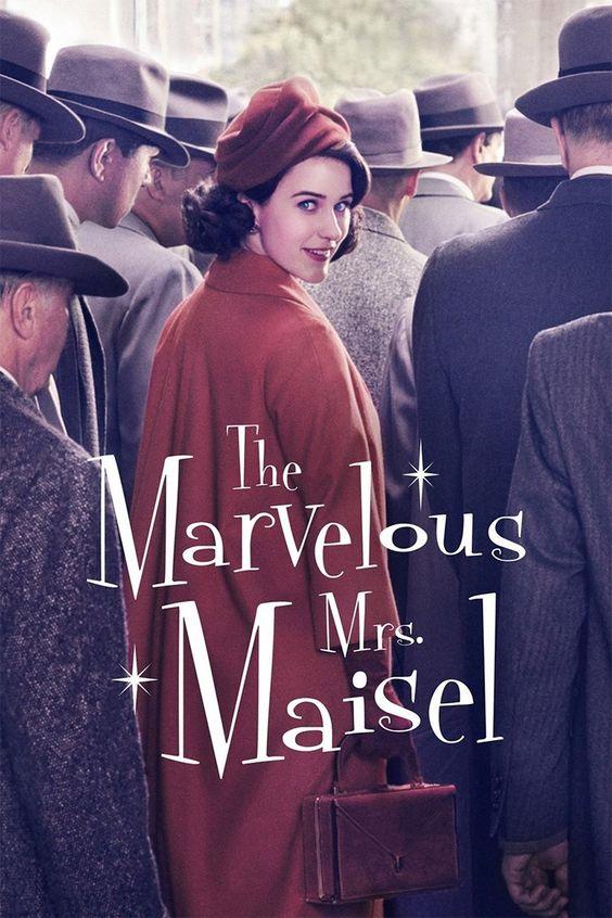 "The Marvelous Mrs. Maisel. Timely and brilliant. Lots of inside references, like were in The Gilmore Girls. Lenny Bruce to Midge: ""My advice to you; be your own lawyer."" Ha! Midge's mom to Midge: ""I tried to call you but you have so many nines in your number."" Big smile. More please."