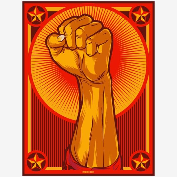 Raised Fist Against Aggression Aggressive Anger Arm Background Clenched Concept Energy Fight Fist Force Freedom G Raised Fist Propaganda Art Propaganda Posters