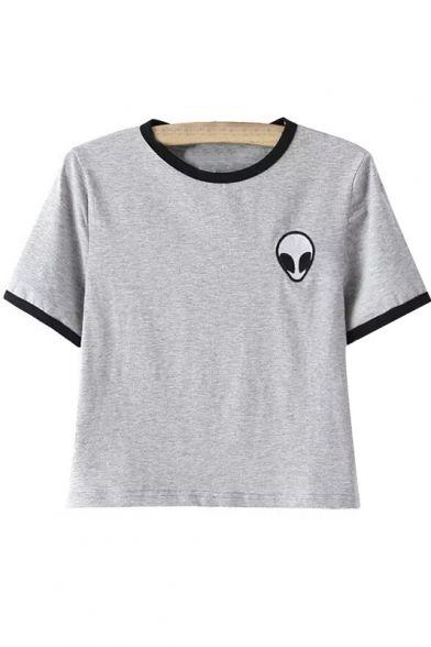 alien pocket tee  alien space grunge grunge punk hipster fachin tee tshirt top under30 under20 bh bella