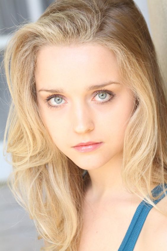 Blonde Hair Grey Eyes 46