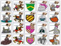 Link on pinterest for Werkbladen ridders en kastelen