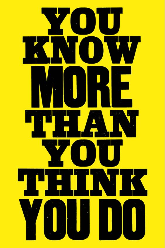 Anthony Burrill's master guide to life and art will enlighten you | Typeroom.eu