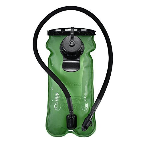 Hydration Bladder System Green 100oz/3litres, Large Opening, Easy to Clean and Full Water Reservoir, BPA Free Tasteless Water Bag Packs, Most Durable Health for Cycling, Climbing, Hiking >>> Check out this great product.