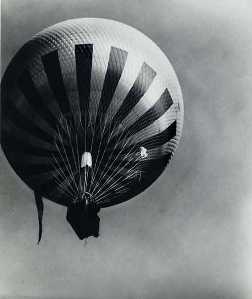 Bill Brandt--Balloon Flying over the Northern Suburbs of Paris, 1929