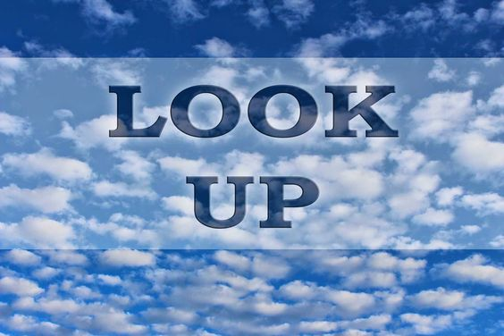 Sometimes you need to just praise Him for a while. http://letsgettoknowhim.blogspot.com.br/2015/02/look-up.html