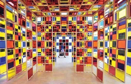 Le lam villeneuve d 39 ascq lille mus e pinterest labyrinthe monde e - Musee lam villeneuve d ascq ...